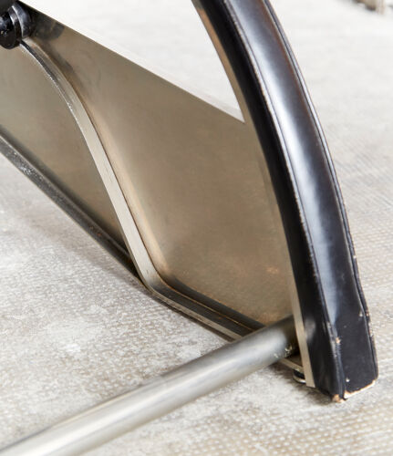 """Chaise longue D80 """"Grand Repos"""" Jean Prouvé  pour Tecta"""