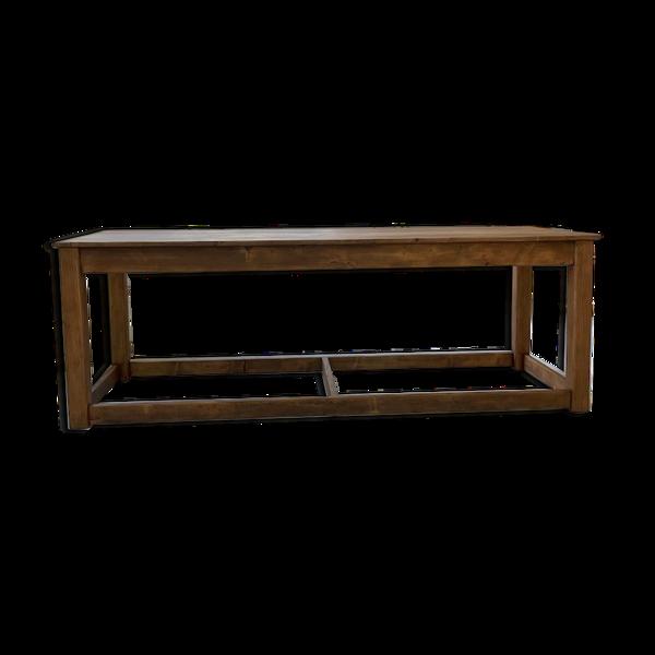 Table de ferme pin 220 cm