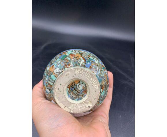Vase ovoïde 12 Gerbino, Vallauris