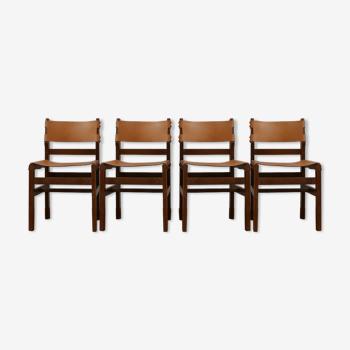 Lot de 4 chaises de la Maison Regain