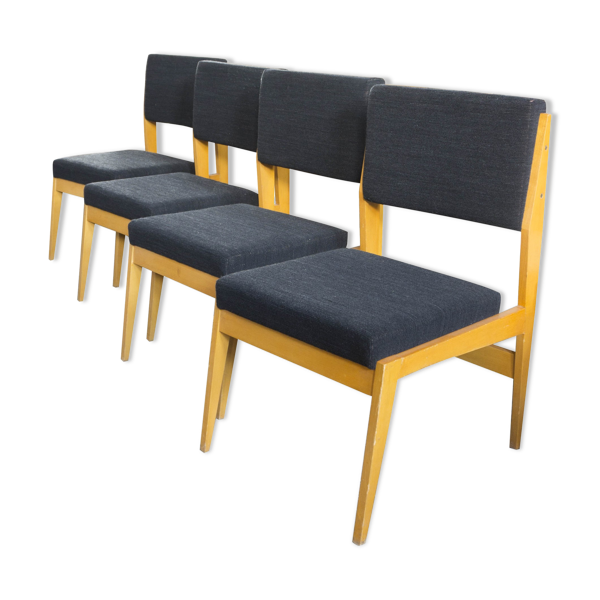 Set of chairs Swiss 1960