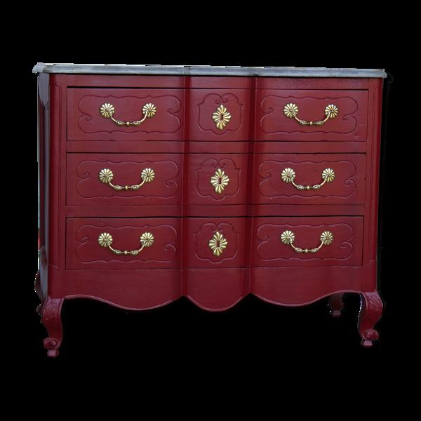 Commode ancienne de style Louis XV