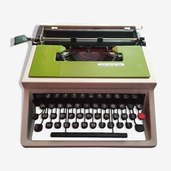 Machine à écrire Underwood 315 vert pomme vintage