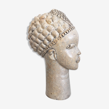 African stone head, early 20th