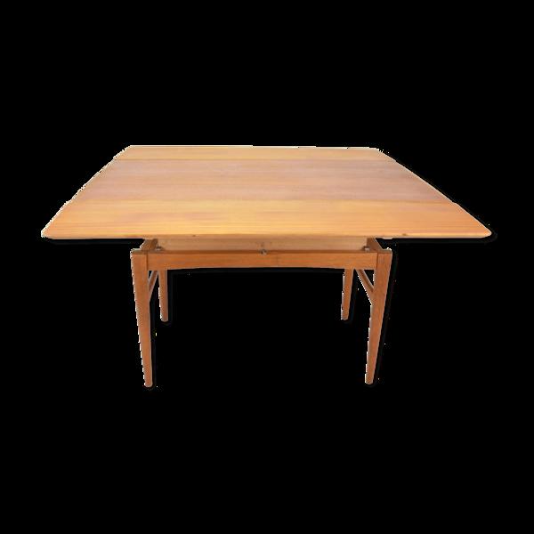 Selency Table extensible en teck par O. Carlsson Emmaboda Möbelfabrik 1957
