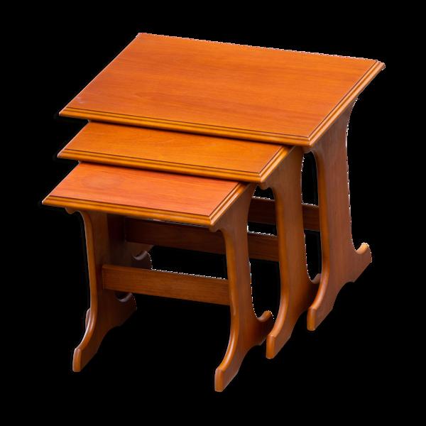 Tables basse scandinave en teck 1960