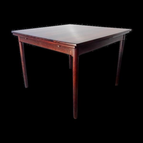 Table en bois de rose extensible