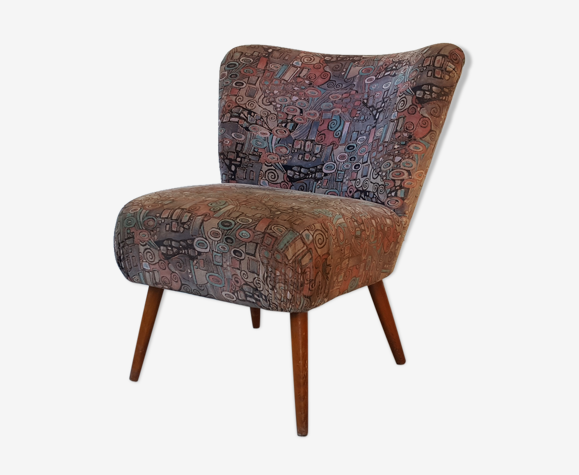 Vintage club armchair from the 1960s and 1970s
