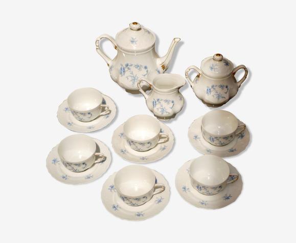 Service à thé / café en porcelaine de Limoges