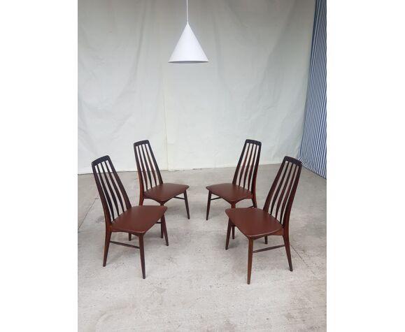 Lot de 4 chaises de Niels Koefoed pour Koefoeds Hornslet.