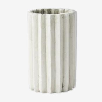 Vase en ciment