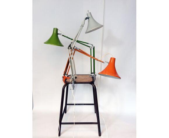 Trois lampes d'architecte