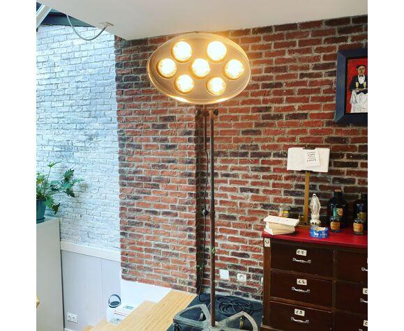 Lampe de carrossier vintage de la marque RG Levallois année 50