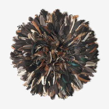 Juju Hat noir moucheté 50 cm