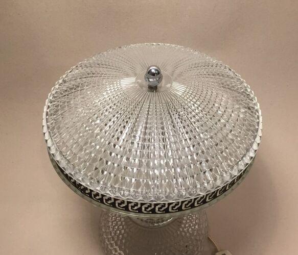 Lampe en verre Art Déco