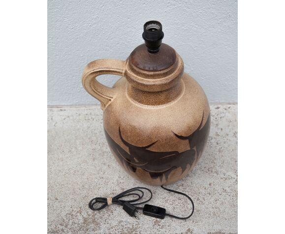 West Germany ceramic lamp foot 50/60