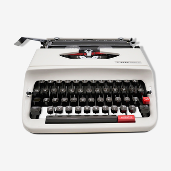 Revised Japy Baby S typewriter with new ribbon