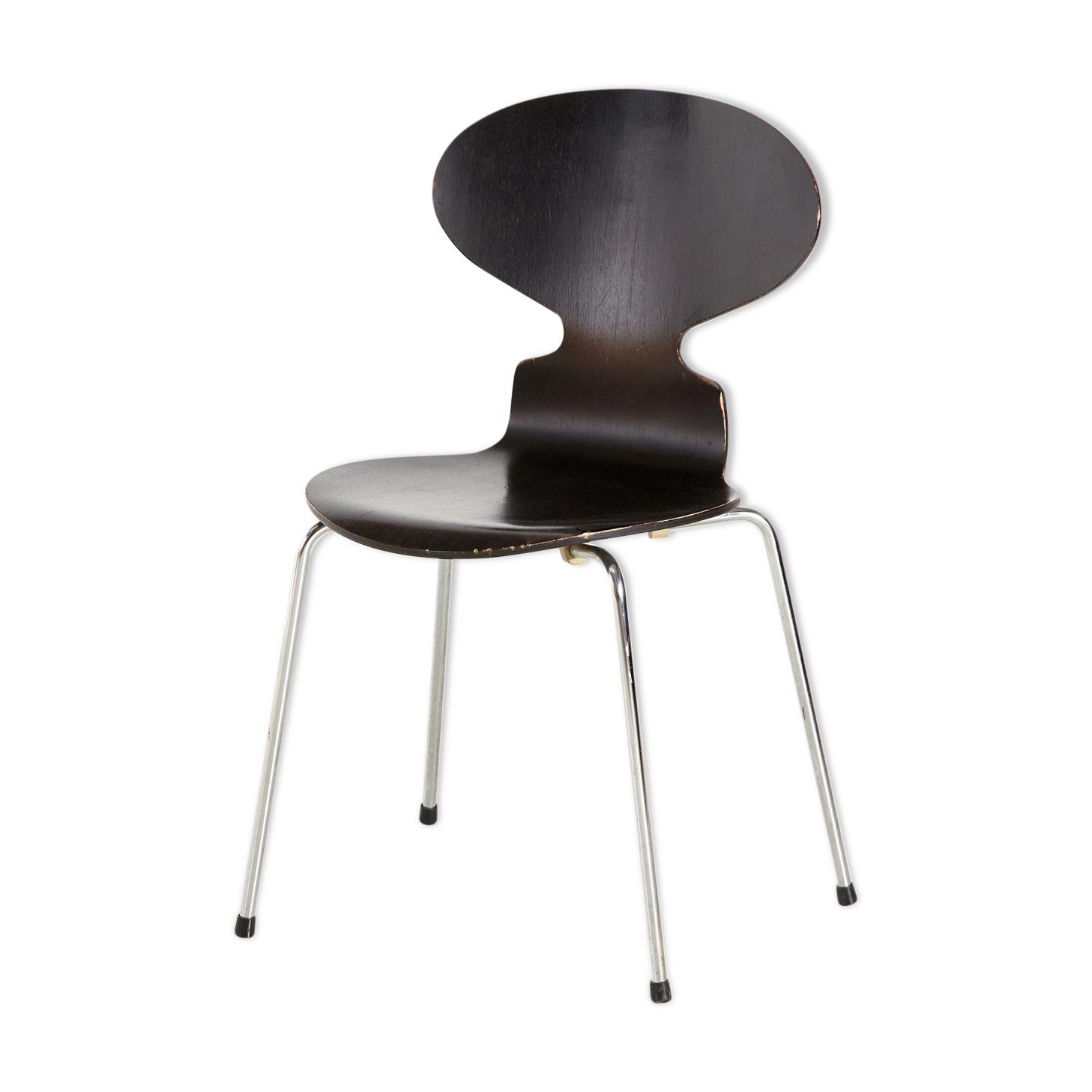Chaise modèle 3101 par Arne Jacobsen pour Fritz Hansen