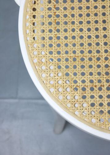 Lot de 4 chaises blanches no. 18 de Michael Thonet