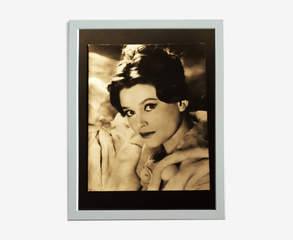 "Photographie originale de "" Béatrice Altariba '' vers 1960"