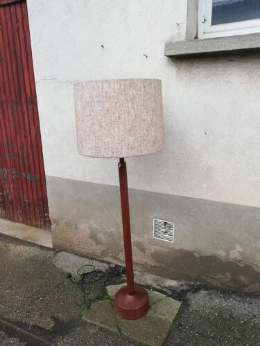 Lampadaire scandinave teck