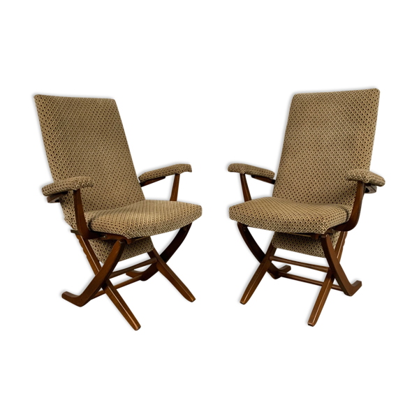 Paire de fauteuils, France, années 1960
