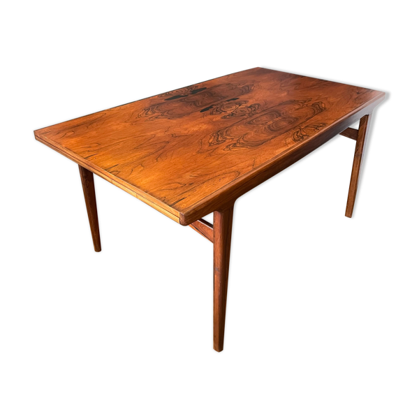 Selency Table vintage scandinave en palissandre