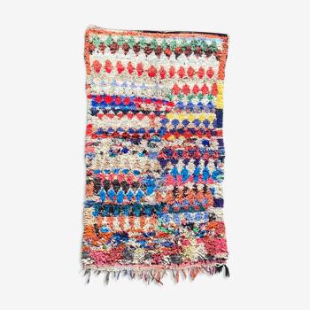 Tapis berbere boucherouite 125x200 cm