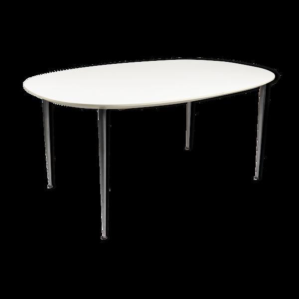 Table à manger stratifié blanc