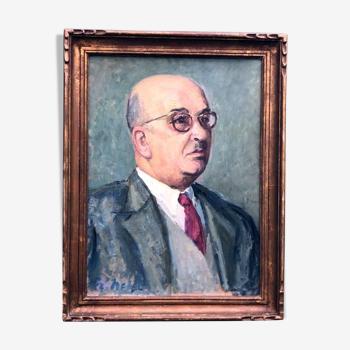 """Tableau"""" L'homme à lunettes"""""""