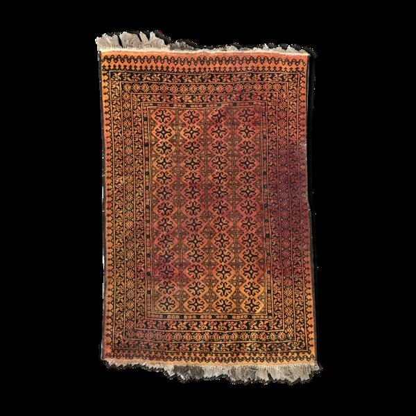 Tapis vintage turkmen afghan 105x152 cm