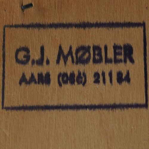 Coffre en teck de tiroirs, design danois, années 1970, Danemark