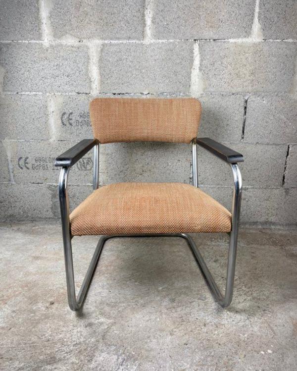 Fauteuil vintage style Bauhaus
