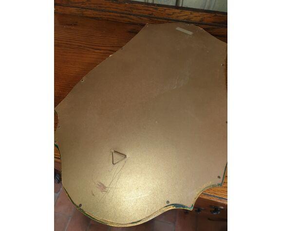 Miroir doré 36x50cm