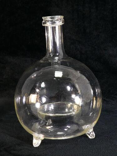 Piège à guêpe attrape mouche XIXème en verre soufflé