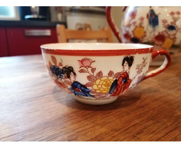 Service à thé décor japonais