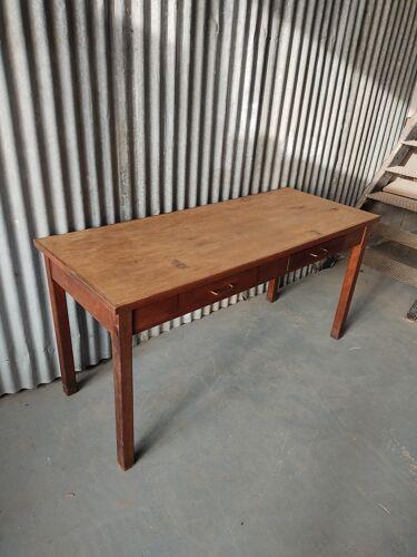 Table de ferme chêne massif