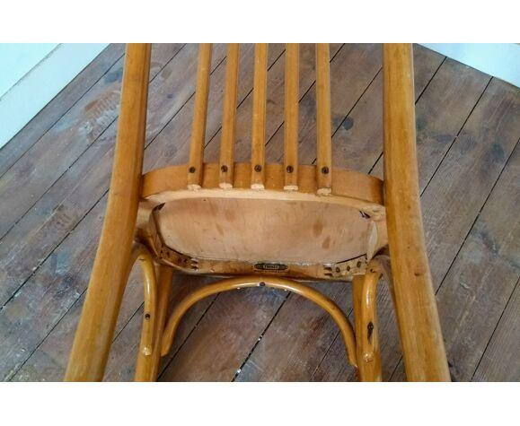 Chaise en hêtre courbé Thonet