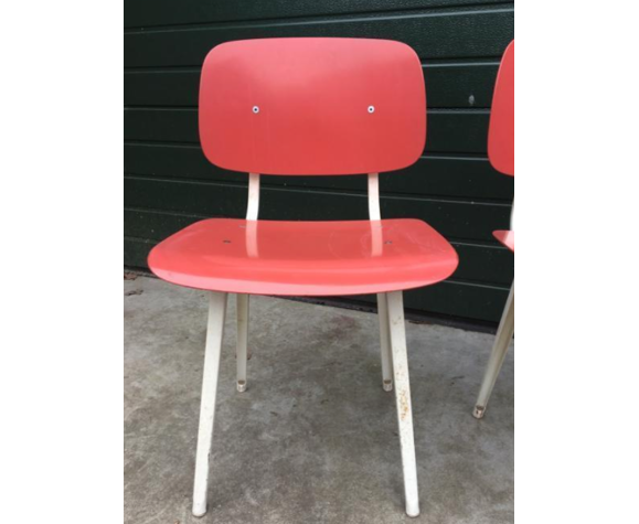 "Ensemble de 4 chaises ""Revolt"" Friso Kramer"
