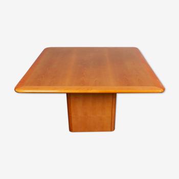 Table à manger carrée hollandaise vintage