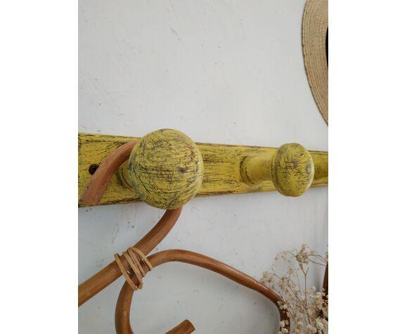 Porte manteaux en bois ancien