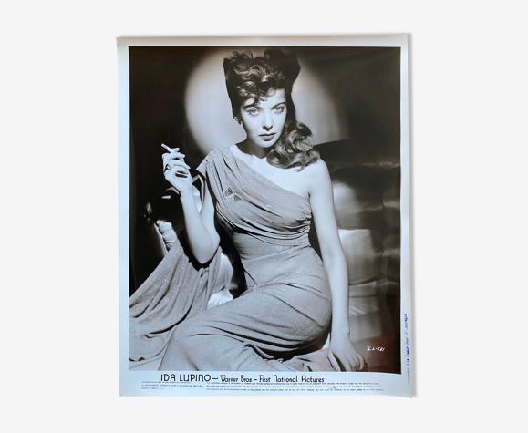 """Photo cinéma originale """"Ida Lupino"""" Film-Noir 20x25cm 1940"""