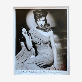 "Photo original cinema ""Ida Lupino"" Film-Noir 20x25cm 1940"