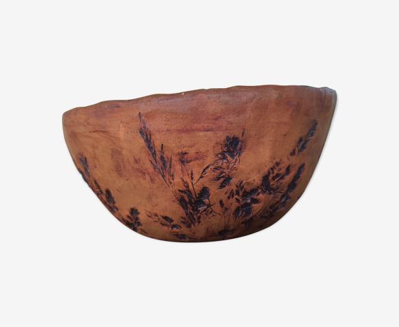 Saladier poterie vintage