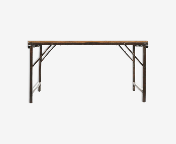 Folding Dining Room Table With Wooden, Folding Dining Room Table