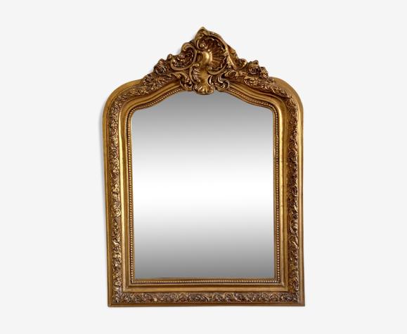 Miroir ancien biseauté 70x95cm