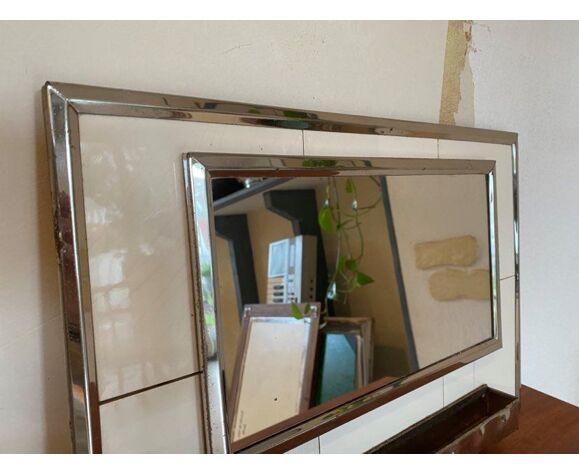 Miroir salle de bain vintage 47x31cm