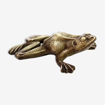 Grenouille en bronze années 50
