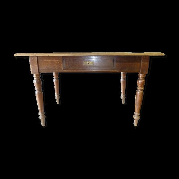 Table en chêne vers 1900
