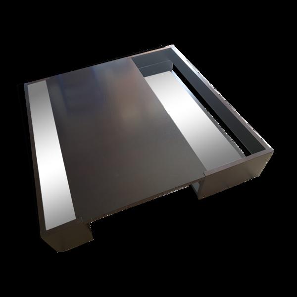 Table basse noire Void